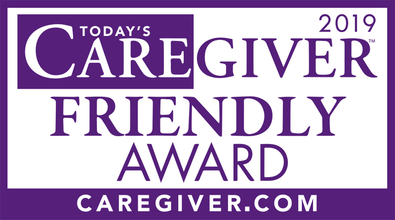 Today's Caregiver Friendly Award 2019